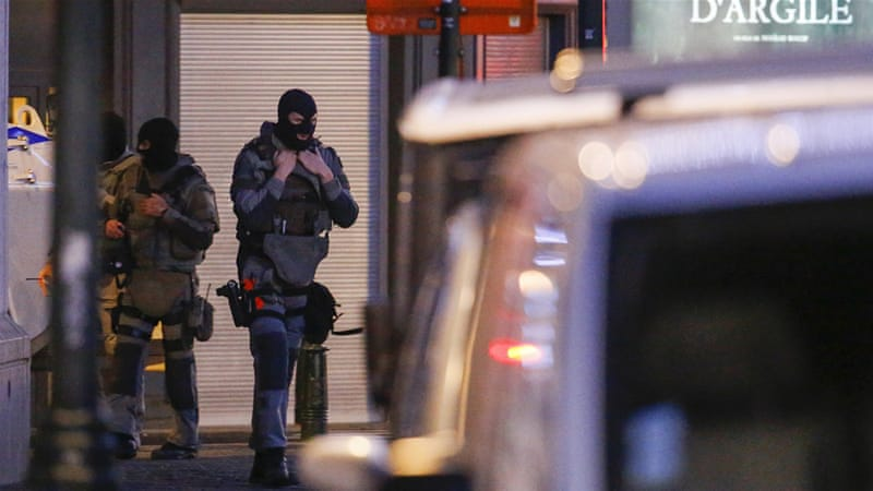 Belgium has so far arrested eight people on suspicion of involvement in attacks in Paris [Yves Herman/Reuters]