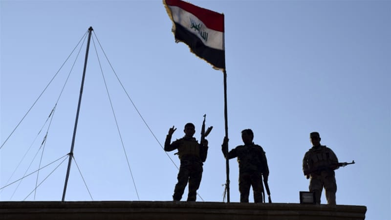 The government forces counterattack on the centre of the Ramadi  began in earnest on Tuesday [AP]