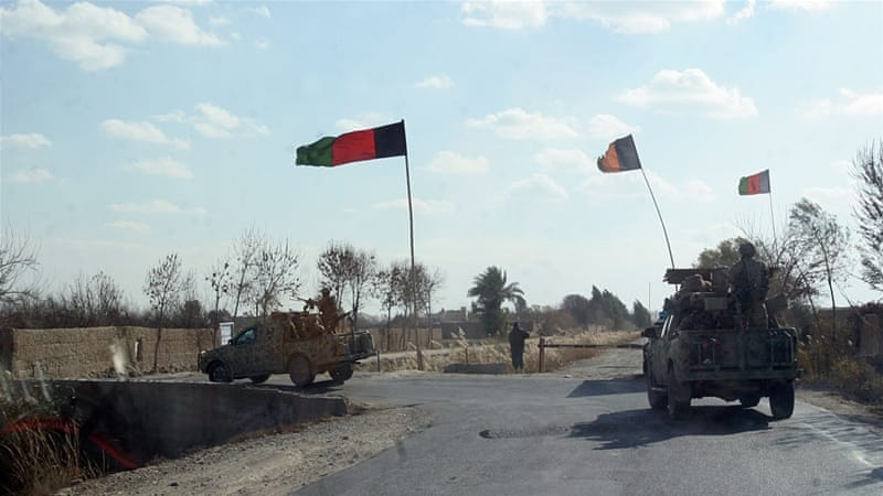 Afghan commanders have appealed for NATO close air support to bombard Taliban positions [Abdul Khalik/AP Photo]