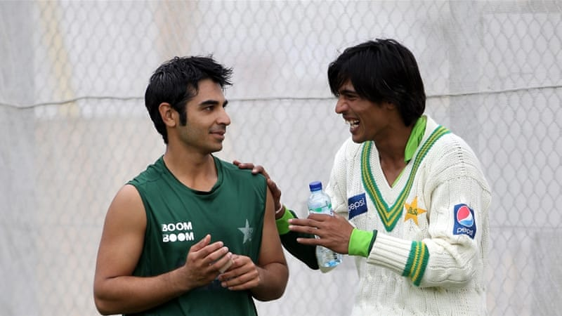 Butt (left) was the captain of the Test side which Asif and Amir (right) were part of [Getty Images]
