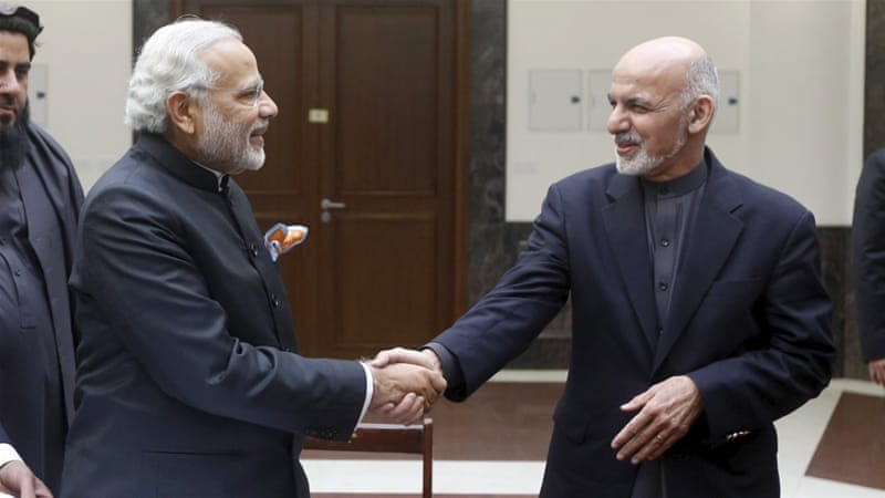 New Delhi is caught between the rock and a hard place in Afghanistan, writes Borah [Reuters]