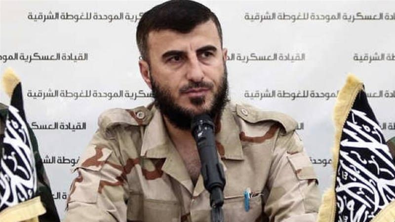 By targeting Alloush, it appears that the Syrian regime is trying to restore its own agency in the shadow of the Vienna process, writes Denselow [Al Jazeera]