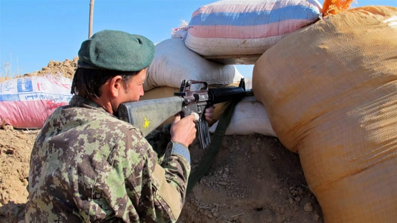 The fight for control of Sangin has raged for days, with both sides claiming to have the upper hand [File: Watan Yar/EPA]