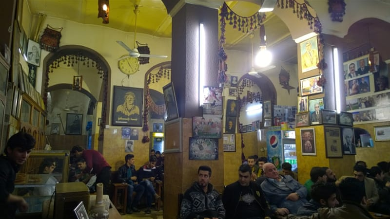 The teahouse that holds the history of Iraq's Erbil