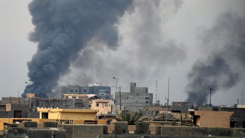 Iraqi security forces' progress in Ramadi has reportedly been slowed by ISIL bombs and booby traps [AP]