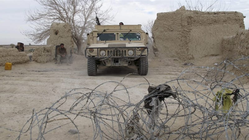 Fighting between Afghan and Taliban forces has been heavy recently in the town of Sangin in Helmand province [Abdul Malik/Reuters]