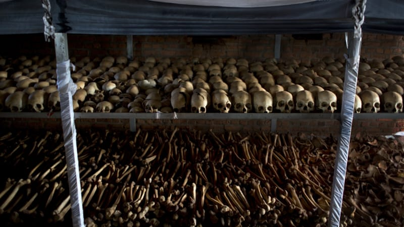 Eight other suspects involved in the Rwandan genocide, which saw at least 800,000 people killed, remain at large [Ben Curtis/AP Photo]