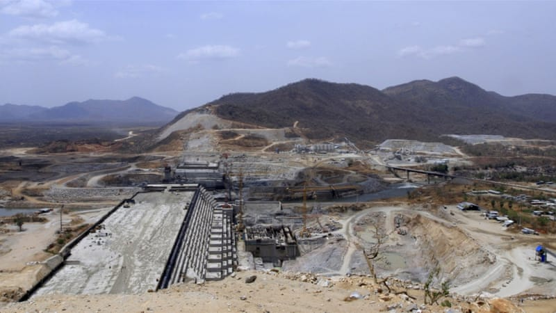 The $4.8bn Grand Ethiopian Renaissance Dam project is about 60 percent complete [Tiksa Negeri/Reuters]
