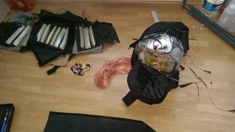 Police seized a suicide vest armed with a bomb and an explosive device placed inside a backpack [Anadolu news agency]