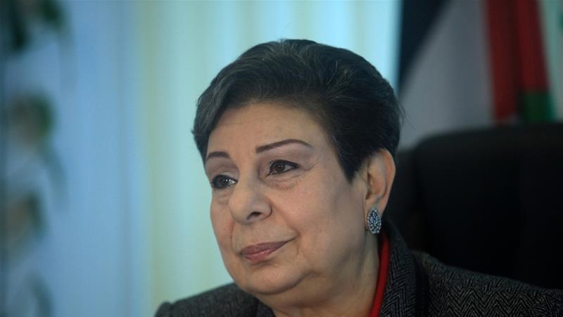 Hanan Ashrawi has been a longtime aide to Palestinian President Mahmoud Abbas [File: Getty Images]