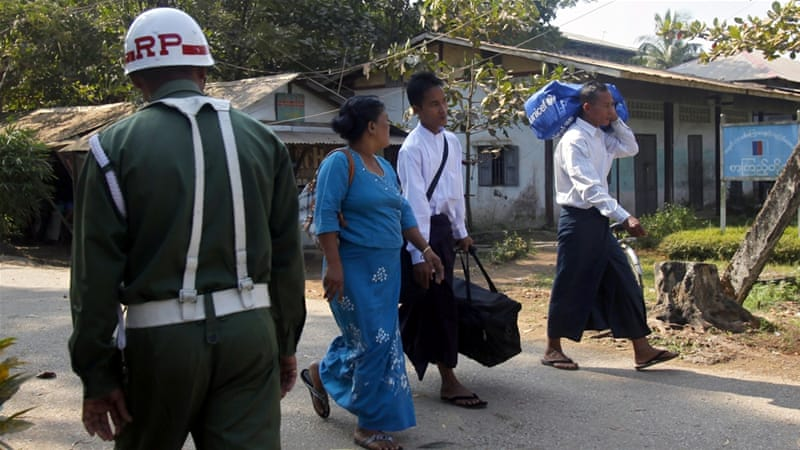 Myanmar's government, which replaced military rule in 2011, has vowed to end the country's civil wars as a key part of its reforms [EPA]