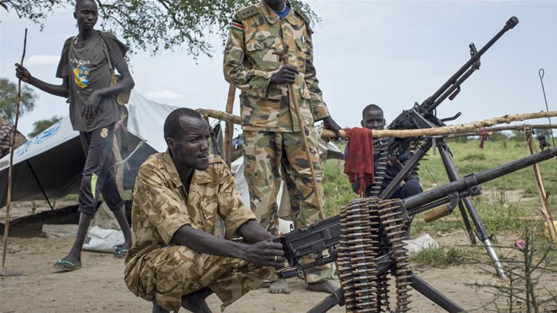 South Sudan's rival factions have been at war since 2013 [AP]
