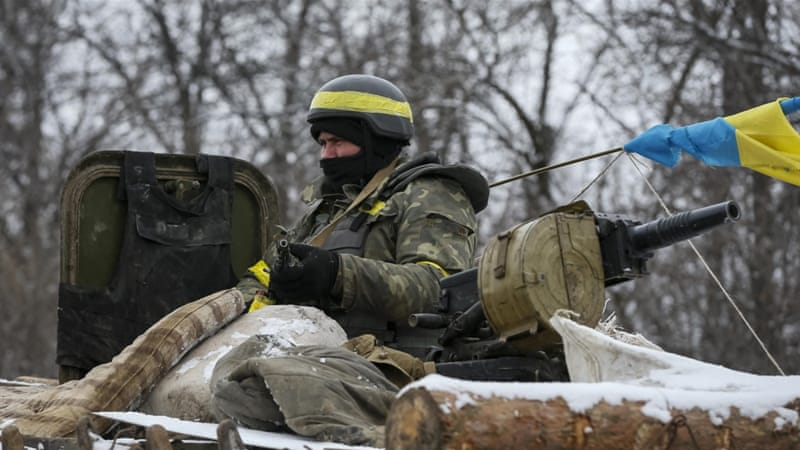 Ukraine is a country with precious few assets - and tremendous resource needs, writes Richter [AP]