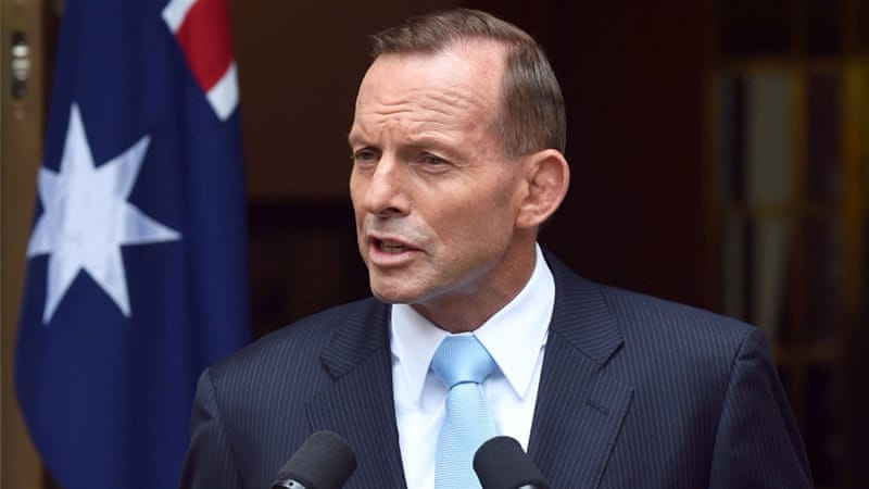 PM Abbott noted that Australia stood by Indonesia in times of need, particularly after the devastating 2004 Asian tsunami [EPA]
