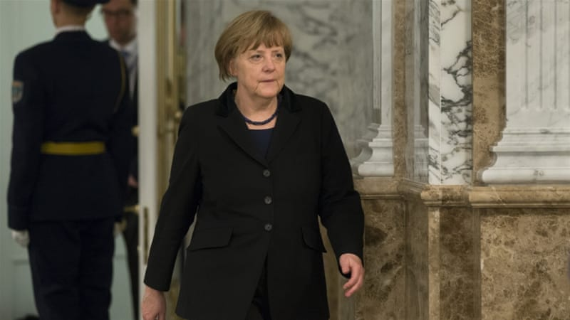 Merkel is a strong believer in diplomacy and international norms and rules, writes Keulen [Reuters]