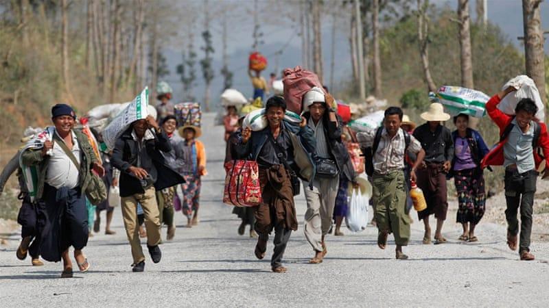 Myanmar Declares State Of Emergency In War Torn Region