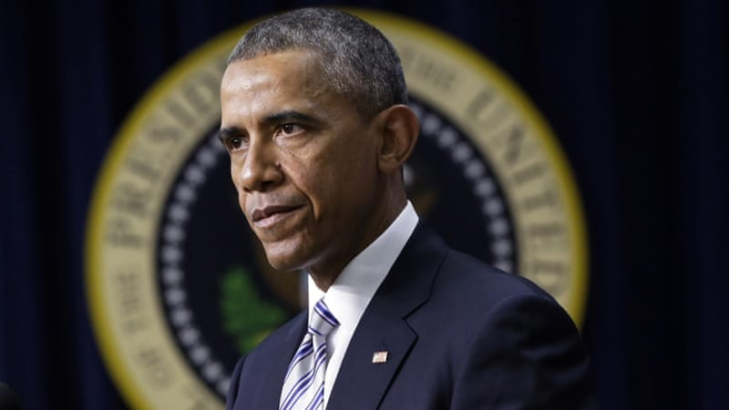 The US president blamed the governments of Syria and Iraq for the emergence of ISIL [AP]
