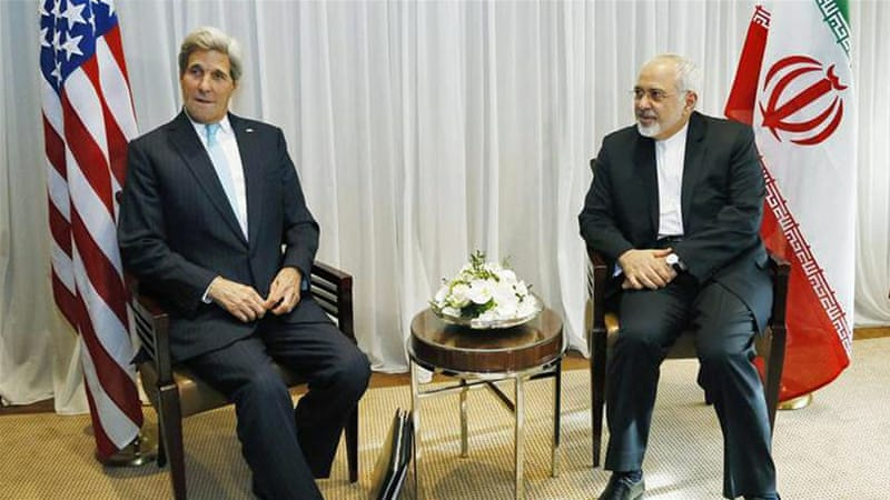 Zarif and Kerry will hold two days of discussions from Sunday after their diplomats begin bilateral talks on Friday [AP]