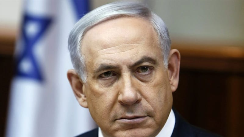 Netanyahu questioning the Democrats' support of Israel [Reuters]