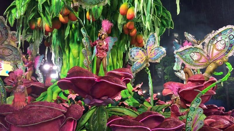 Brazil Carnival Floats 2015