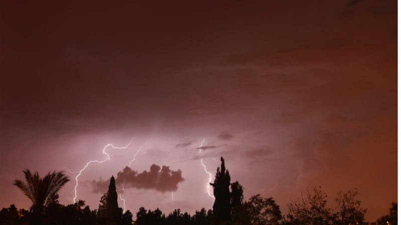 Beautiful and often beneficial, Gulf thunderstorms usually bring rain [File/Getty]