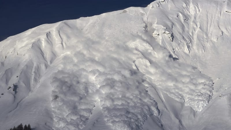 Avalanches can be very easy to start and most mornings you can hear cannon fire in alpine regions, helping to clear unstable snow [Reuters]