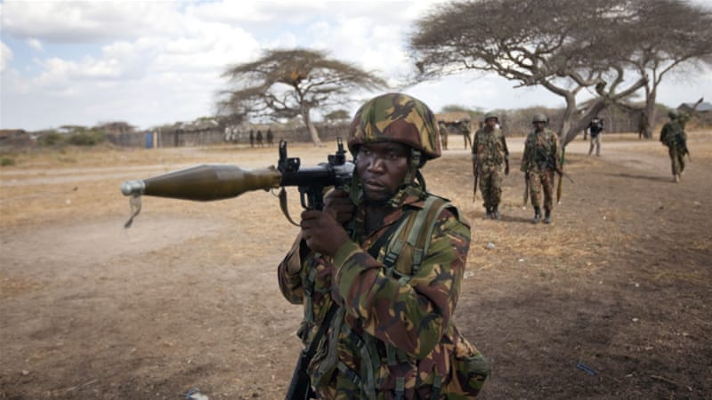 Kenya sent its troops into Somalia in 2011 to fight the al-Qaeda-linked armed group, al-Shabab [AP]