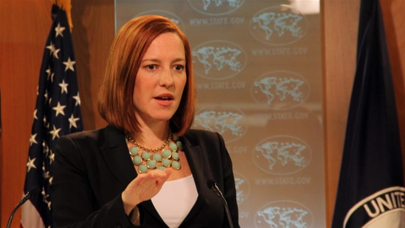 State Department spokeswoman Jen Psaki said the US looks forward to eventually reopening an embassy in Mogadishu [Getty Images]