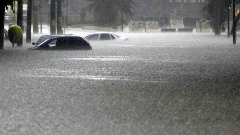 drought stricken sao paulo hit floods news al jazeera