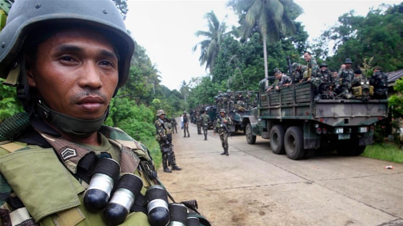 Philippine troops kill 'eight from group loyal to ISIL'