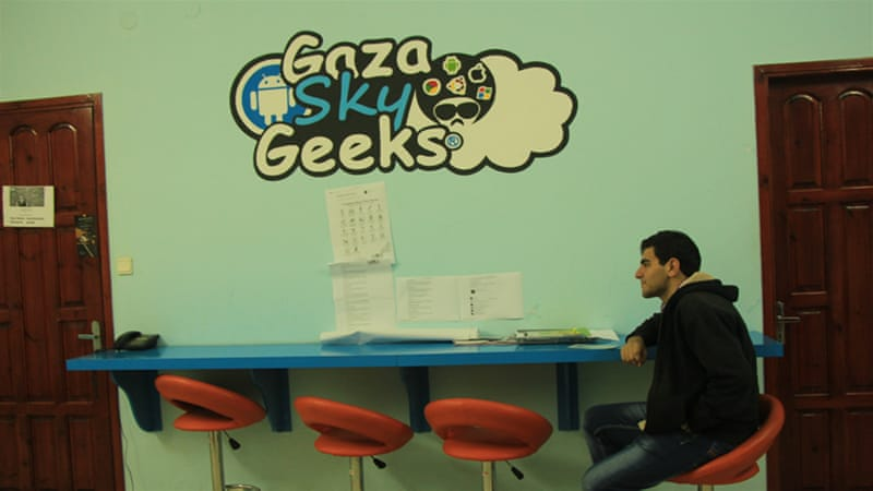 In the small, densely populated Gaza Strip, there are many entrepreneurs who started from scratch [Walaa Ghussein/Al Jazeera]