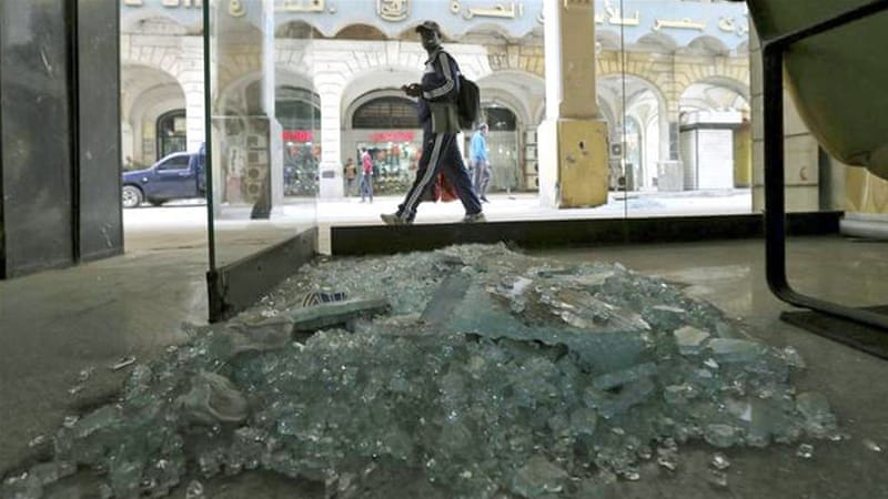 A bomb went off in the centre of the capital without casualties, security sources said [Reuters]