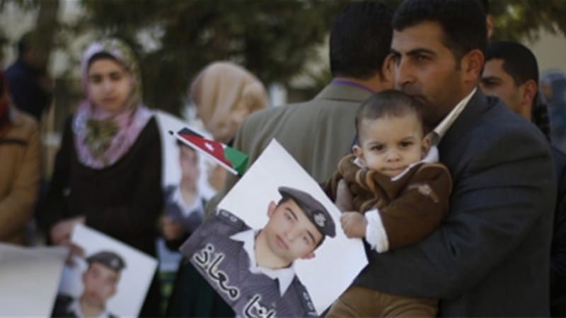 Jordan has said it will avenge the death of Moaz al-Kassasbeh, the Jordanian pilot who was killed by ISIL [Reuters]