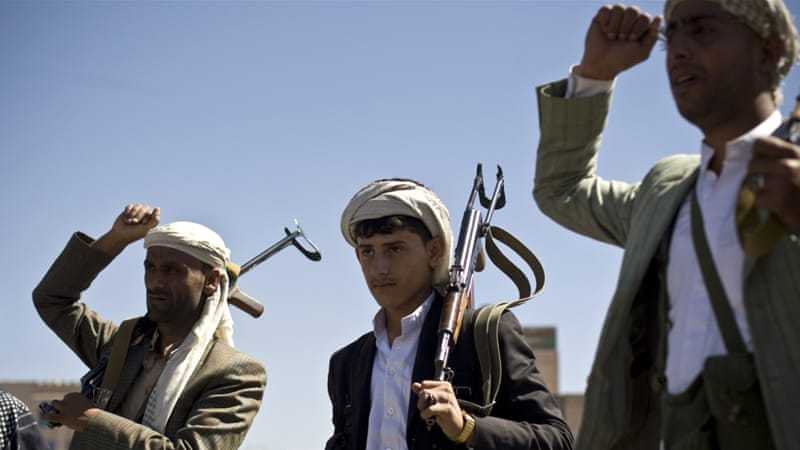 Since mid-January, the Houthis have challenged the state's legitimacy by placing the president, the prime minister and other key ministers under house arrest [AP]