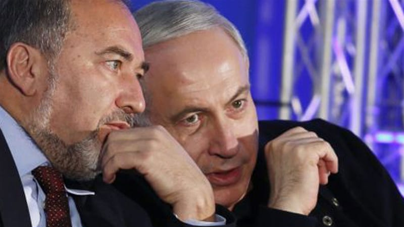 Lieberman said he was resigning as foreign minister just two days before Netanyahu's deadline to form next government [AP]