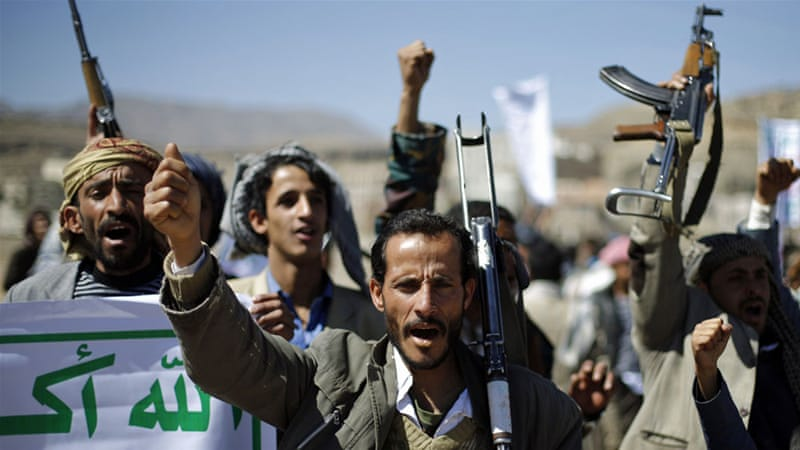 Despite the tense mood in the south, the Houthis have said they have no intention of pushing into that territory [Reuters]
