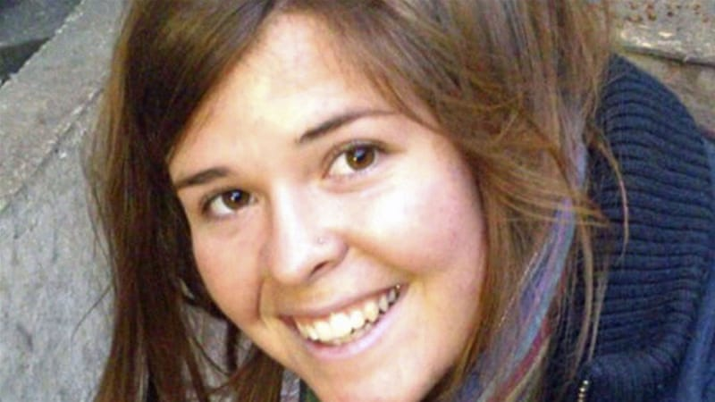 Kayla Mueller was taken captive by ISIL in August 2013 in the Syrian city of Aleppo [Reuters]
