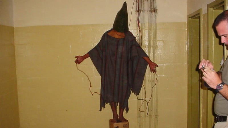 Evidence of Abu Ghraib abuses surfaced during former President George W Bush's re-election campaign [AP]