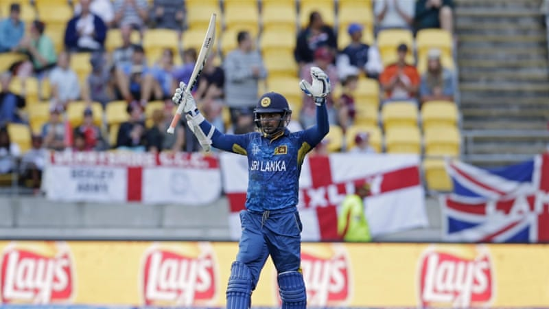 Sangakkara is now the third highest scorer in World Cup history [Reuters]