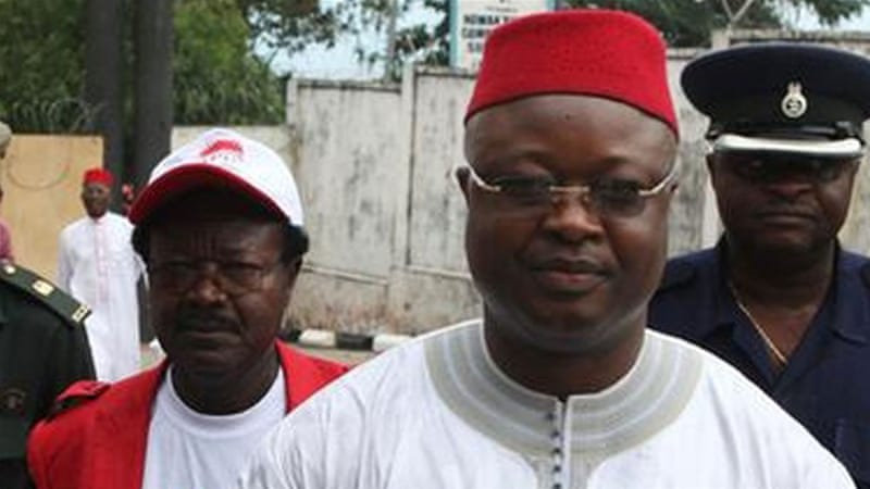 The Ruling APC party accused Sam-Sumana of creating his own rival political movement and fomenting violence [Reuters]