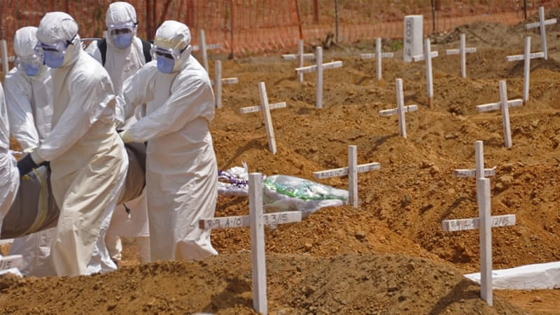 Since the outbreak began, 24,753 people have been infected with the virus and 10,236 have died [AP]
