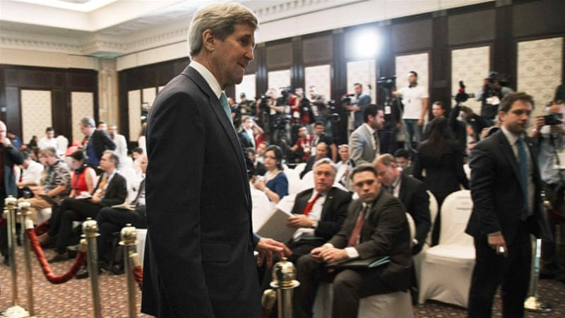 John Kerry will travel to Switzerland on Sunday for resumption of Iran nuclear talks [Reuters]