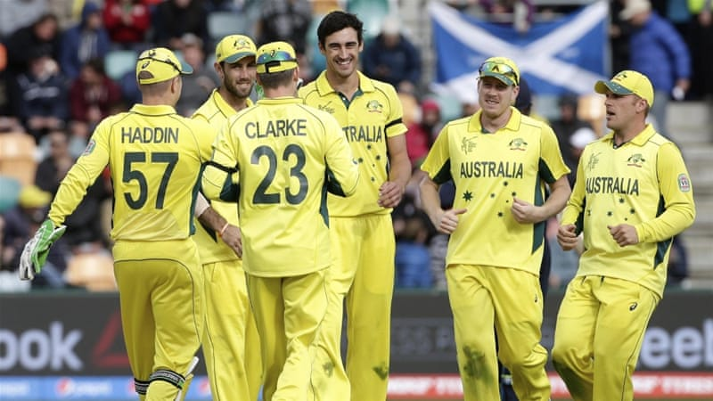 Australia managed to dismiss Scotland in under 26 overs [Reuters]