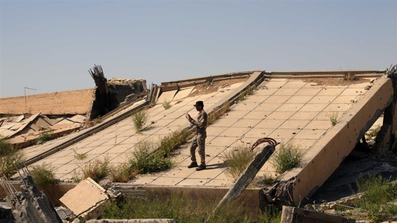 Saddam's tomb heavily damaged in Iraq fighting