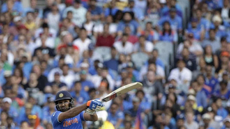 Sharma's 137 came off 126 balls [Reuters]