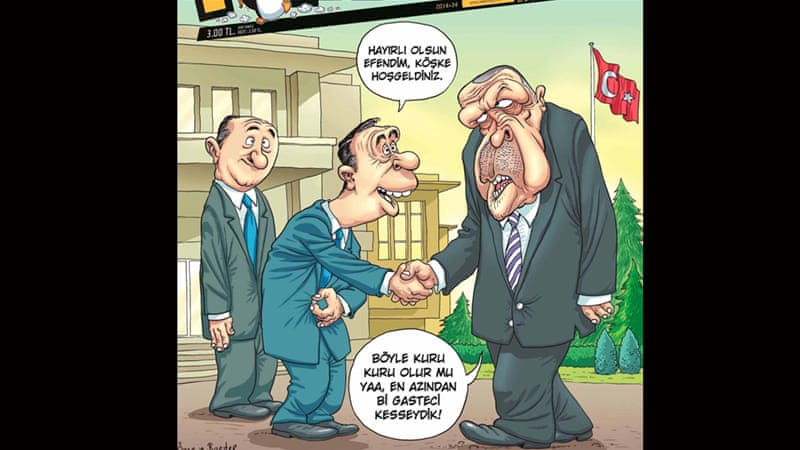 Cartoon Erdogan