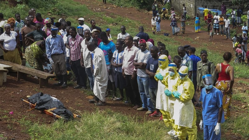 Ebola has killed more than 11,000 in West Africa since the start of the outbreak in December 2013 [EPA]