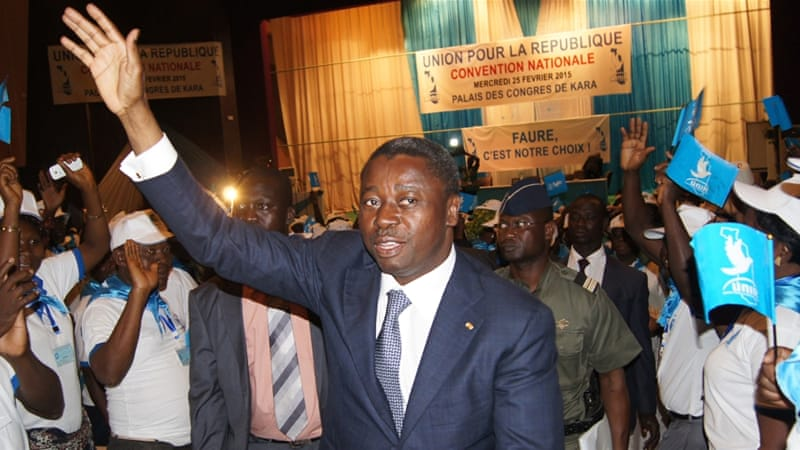 Gnassingbe has been in power since 2005 following the death of his father who ruled the west African country for 38 years [AFP]