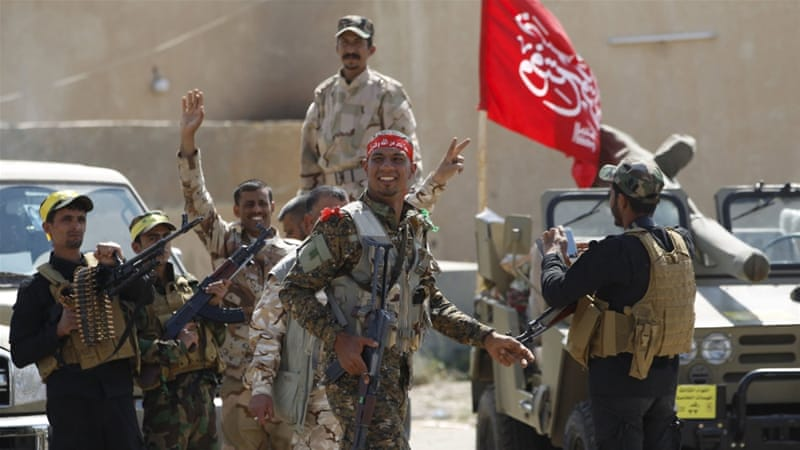 The US general said that the campaign being waged by Iranian-back militias working with Iraqis had stalled [Reuters]