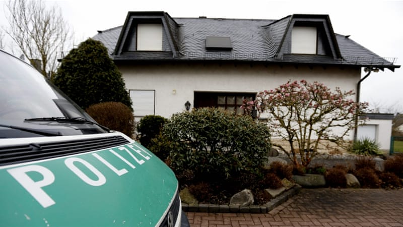 German police reportedly found a number 'of medicines for the treatment of psychological illness' during a search at his home [AP]